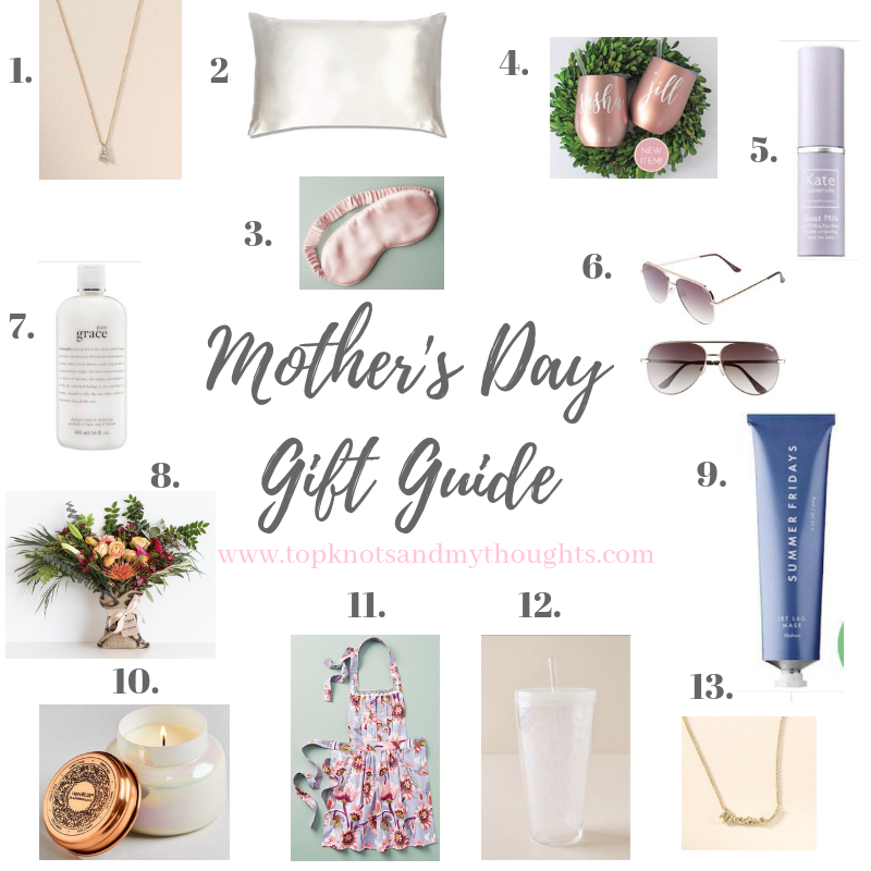 Mother S Day Gift Guide Top Knots My Thoughts
